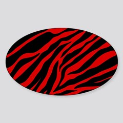 Red Zebra Curtains By Glitterhollywood Cafepress