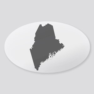 Black Sticker (Oval)