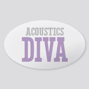 Acoustics DIVA Sticker (Oval)
