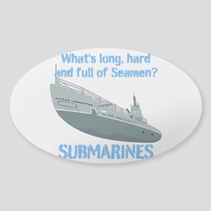 Navy Seaman Submarines Sticker (Oval)