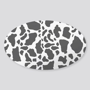 Cow Print Pattern Sticker