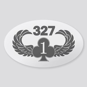 1-327 1-of-Clubs Sticker (Oval)