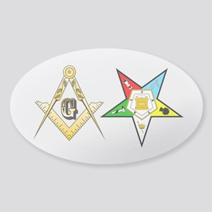 Masonic - Eastern Star Sticker (Oval)