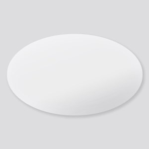 Eggnog Quote Sticker (Oval)