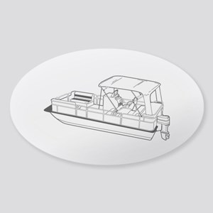 Pontoon Sticker