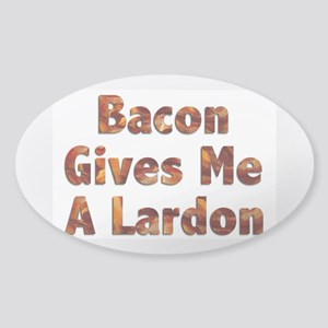 Bacon Lardon Sticker (Oval)