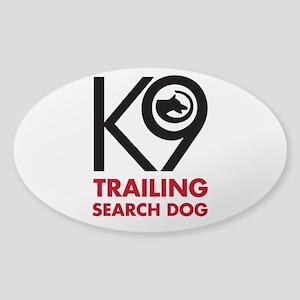 Trailing Bold Sticker (Oval)