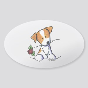 Pocket Rose JRT Sticker (Oval)