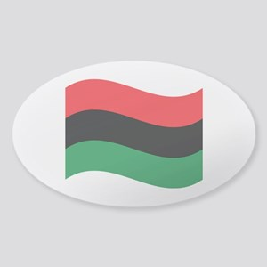 The Red, Black and Green Flag Sticker