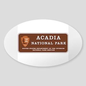 Acadia National Park, Maine Sticker (Oval)