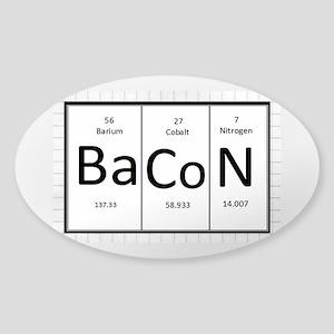 Periodic Bacon Sticker (Oval)