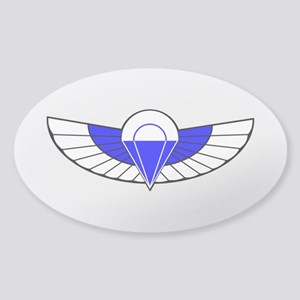 SAS Parchutist Badge Sticker (Oval)