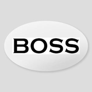 BOSS Sticker (Oval)