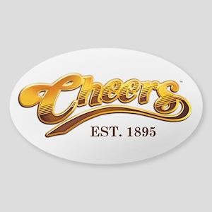 Cheers Est. 1895 Sticker (Oval)