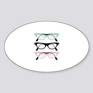 Retro Glasses Sticker