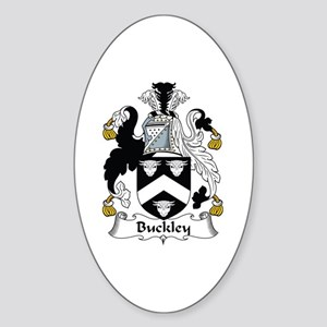 Buckley Oval Sticker
