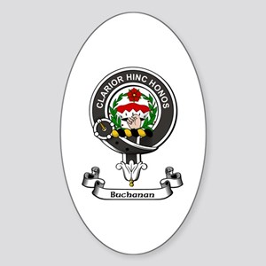 Badge - Buchanan Sticker (Oval)