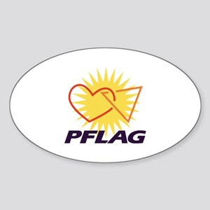 PFLAG of Winston-Salem Oval Sticker