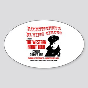 Richthofen's Flying Circus Sticker (Oval)
