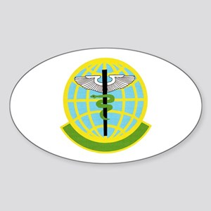 325th Medical Squadron Oval Sticker