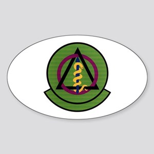 325th Dental Squadron Oval Sticker
