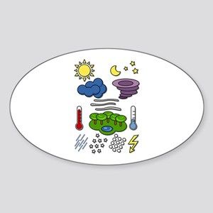 Weather chart symbols Sticker