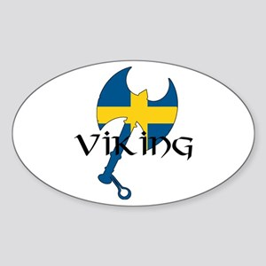 Swedish Viking Sticker