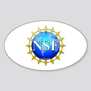 NSF Logo Sticker (Oval)