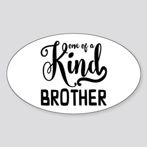 One of a kind Brother Sticker (Oval)