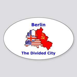 Berlin: The Divided City Oval Sticker
