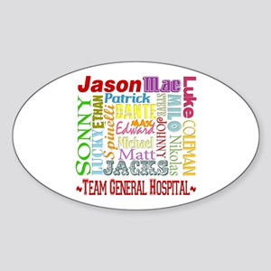 Team General Hospital Sticker (Oval)
