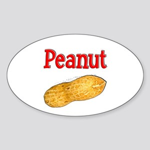 Peanut Sticker (Oval)