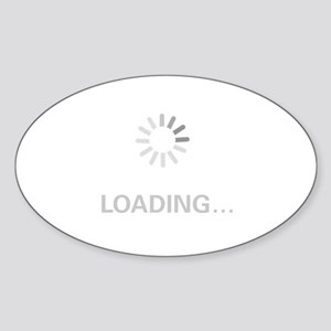 Loading Circle - Sticker (Oval)