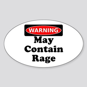 Warning May Contain Rage Sticker