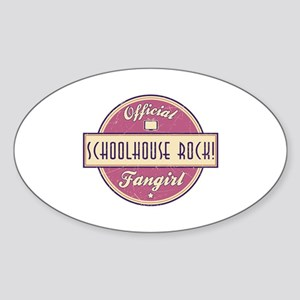 Official Schoolhouse Rock! Fangirl Oval Sticker