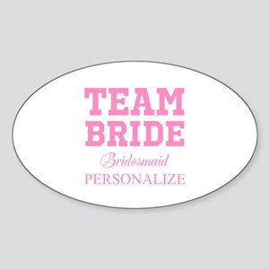 Team Bride | Personalized Wedding Sticker