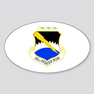 325th Oval Sticker