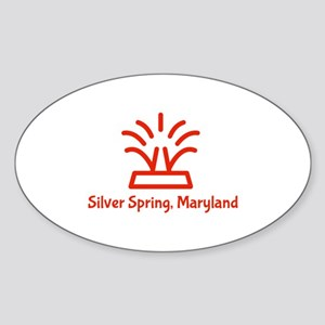 Silver Spring, MD Logo Sticker