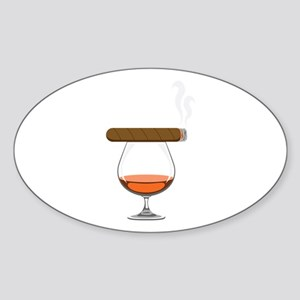 Brandy Cognac Cigar Sticker