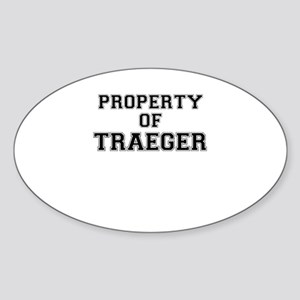 Property of TRAEGER Sticker