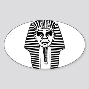 Obey Pharaoh Sticker (Oval)