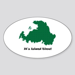 Drummond Island Life Sticker (Oval)