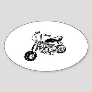 Minibike Sticker (Oval)