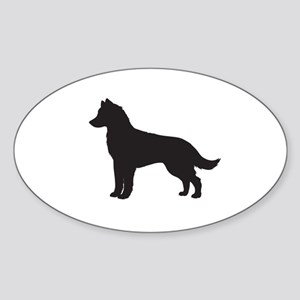 Husky Sticker (Oval)