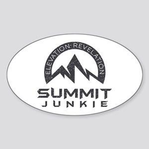 Summit Junkie Sticker (Oval)
