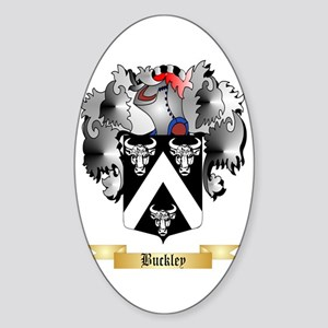 Buckley Sticker (Oval)