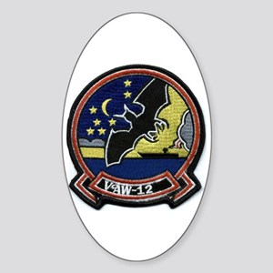 VAW 12 Bats Oval Sticker