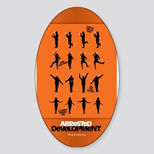 Arrested Development Chicken Dance Sticker (Oval)