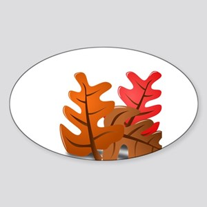 Fall Leaf Peeper New England Leaves Changi Sticker