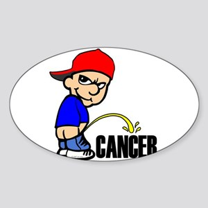 PISSONCANCER Sticker (Oval)